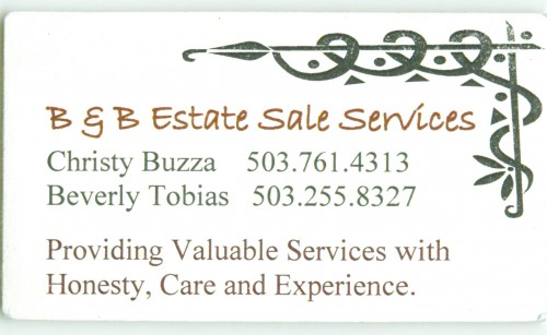 B & B Estate Sale Services