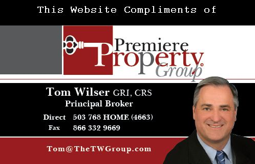 Tom Wilser, Broker with Premiere Property Group