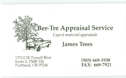 Ber Tre Appraisal Service